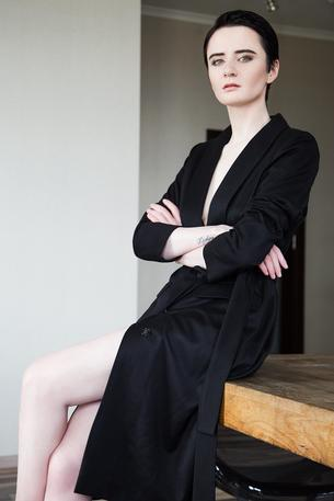 Dress for success: Olga Yanul
