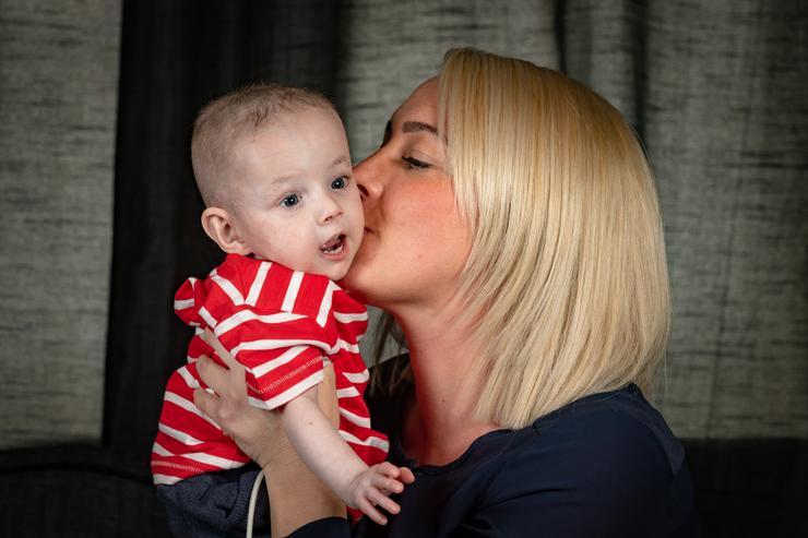 Freddie és édesanyja /Fotó: Northfoto