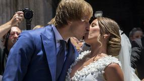 """To była prawdziwie ślubna sobota! Gwiazdy piłki powiedziały sakramentalne """"tak"""""""
