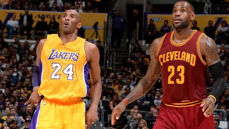 Kobe Bryant(b) és LeBron James utoljára játszottak egymás ellen /Fotó: Twitter
