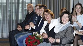 Mama i teściowa wspierają Annę Lewandowską