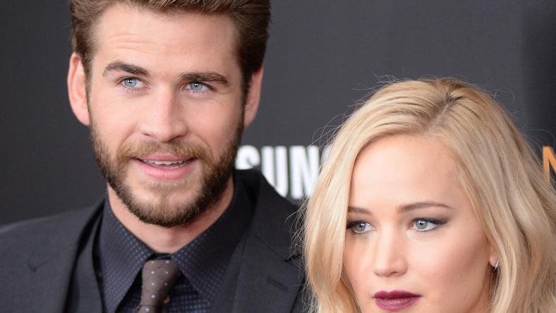 Jennifer Lawrence és Liam Hemsworth, az Éhezők viadala sztárjai / Fotó: Northfoto