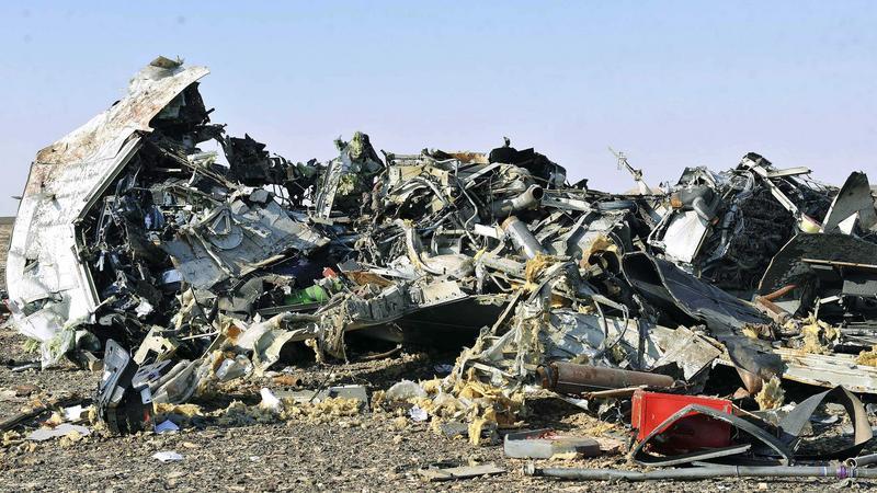 Lezuhant egy orosz utasszállító repülőgép / Fotó: MTI