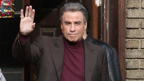"John Travolta na planie filmu ""The Life and Death of John Gotti"""