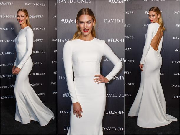 Best Look: Karlie Kloss w sukni Rebeccy Vallance