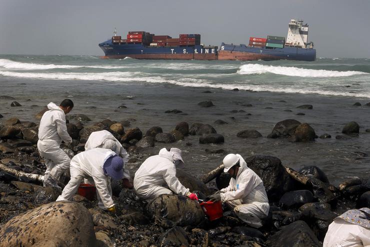 Az olajszennyeződés elképesztő károkat okozhat az élővilágban / Fotó: MTI