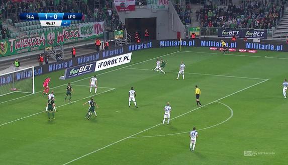 Śląsk - Lech (2:0): Zemsta Robaka! Były lechita trafia przeciw swoim kolegom. Oczywiście z (kontrowersyjnego) rzutu karnego!