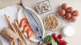 Alergia pokarmowa - produkty, które uczulają najczęściej: jaja, mleko, ryby