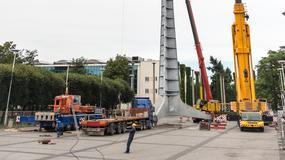 Wrocław: rozpoczął się remont iglicy przy Hali Stulecia