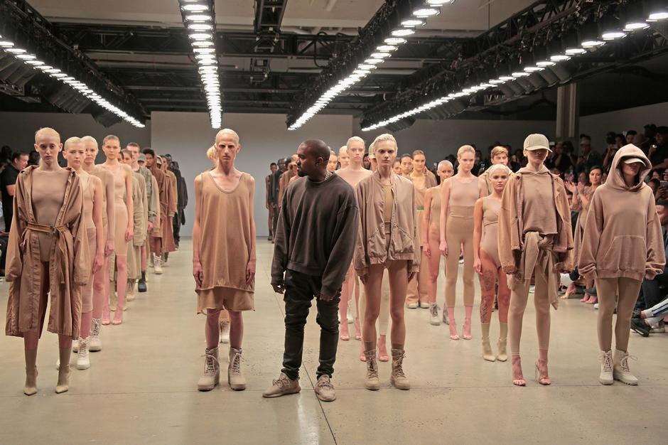 Pokaz mody Kanye Westa x Adidas
