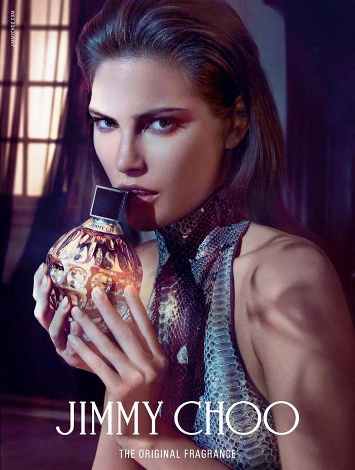 Kampania nowego zapachu Jimmy Choo
