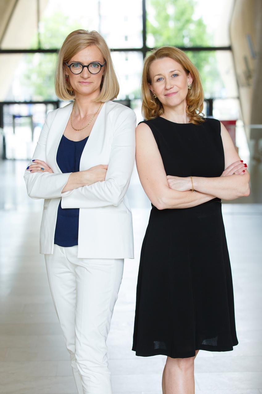 Katarzyna Wierzbowska i Dorota Czekaj