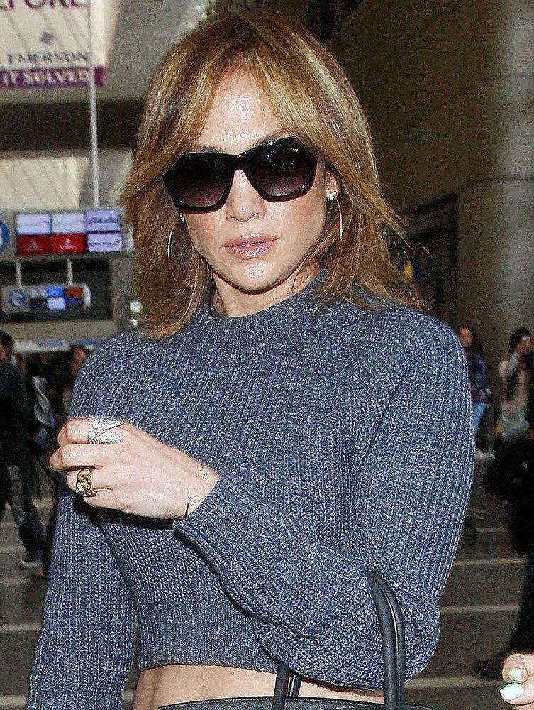 Jennifer Lopez ścieła włosy