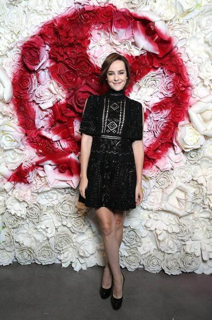 Jena Malone w sukience Valentino