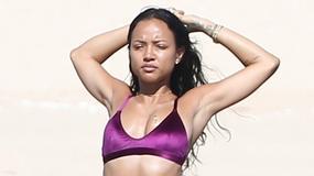 Śliczna Karrueche Tran w bikini. Ależ ona ma ciało