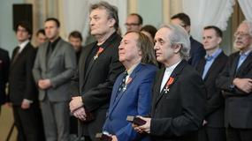Prezydent odznaczył członków zespołu Budka Suflera