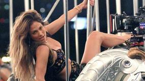 Jennifer Lopez na planie nowego teledysku