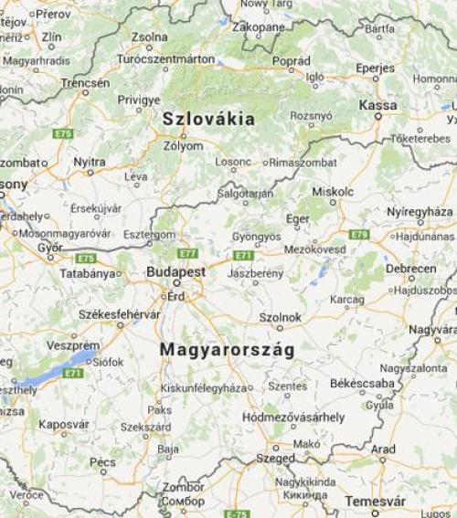 térkép szlovákia magyarország Szlovákiában már szeretik a magyarokat!   Blikk.hu térkép szlovákia magyarország