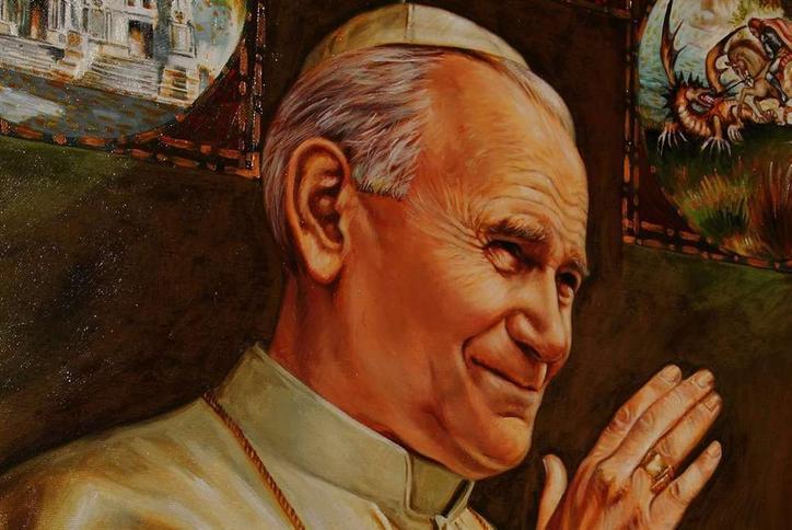 Portret Jana Pawła II zrobią z twojej twarzy. Jak to?