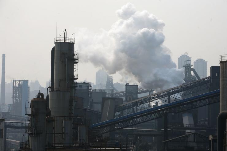 Kína gyárai a legszennyezőbbek / Fotó: EUROPRESS-GETTYIMAGES