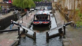 Spuścili wodę z historycznej śluzy na Kanale Regenta w Londynie
