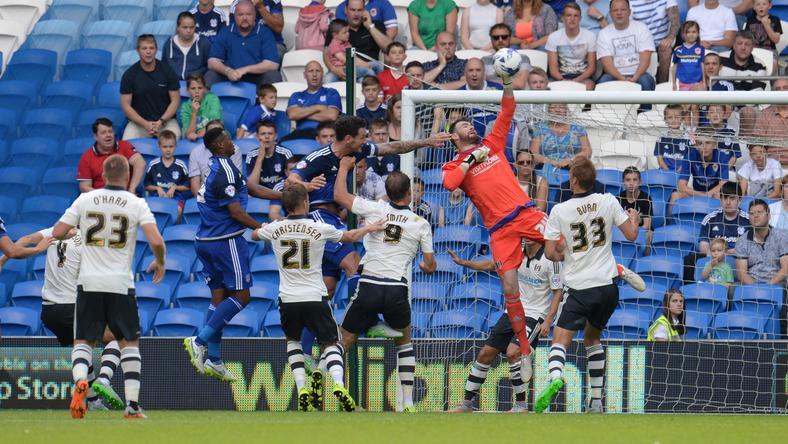 A Fulham játékosokat a Facebookon tesztelték/Foó: AFP