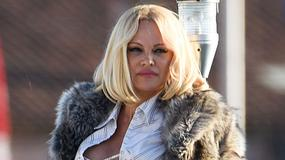 Pamela Anderson i jej atuty podczas sesji zdjęciowej