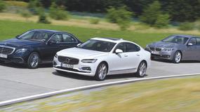 Volvo S90 kontra Mercedes klasy E i BMW serii 5 - czy szwedzkie cylindry mogą być lepsze od niemieckich?