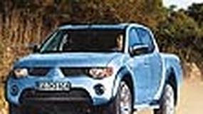 Mitsubishi L200 - Lekka ciężarówka