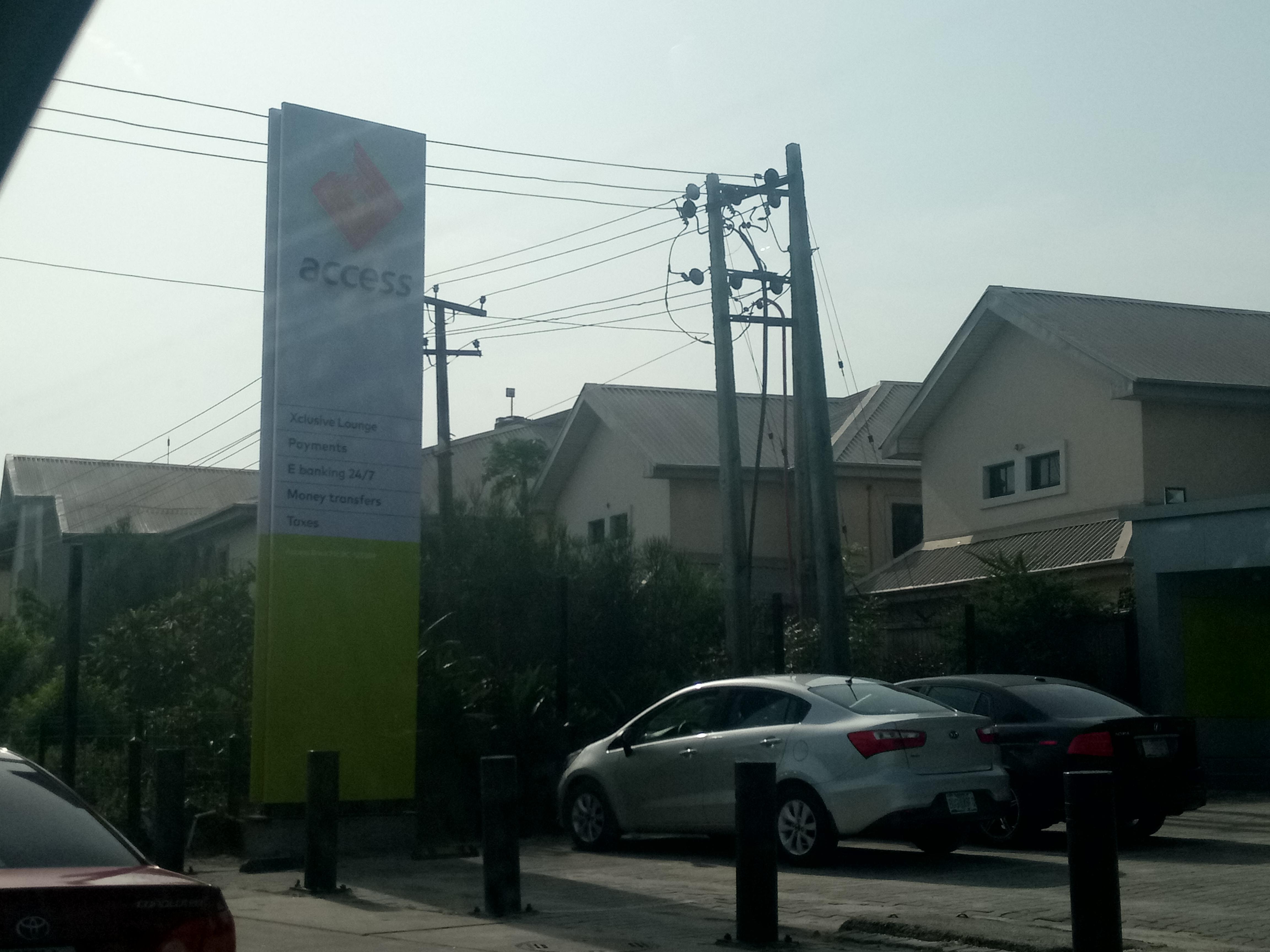 An Access Bank Plc branch in Lagos (Pulse)