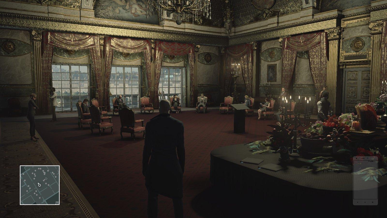 Miestnosti paláca sú plné detailov
