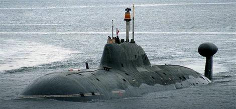 Ruska podmornica tipa Akula
