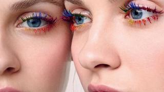 Kolorowe rzęsy  hitem Instagrama