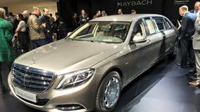 Mercedes-Maybach Pullman: 6,5 metra luksusu