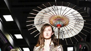 Polskie modelki na wybiegu u Gucci