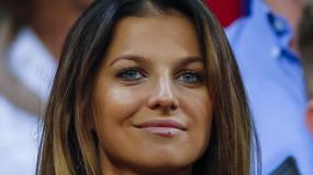 Anna Lewandowska czaruje na trybunach