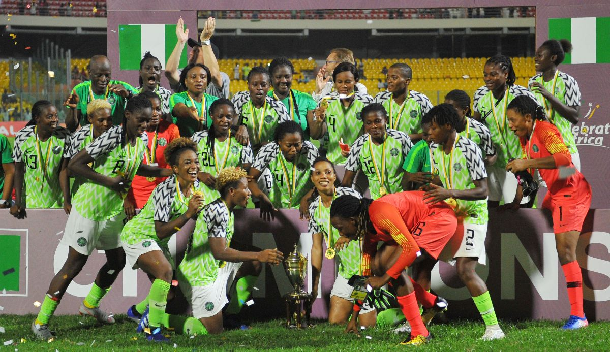 The Super Falcons of Nigeria won AWCON 2018 and are competing at the 2019 FIFA Women's World Cup
