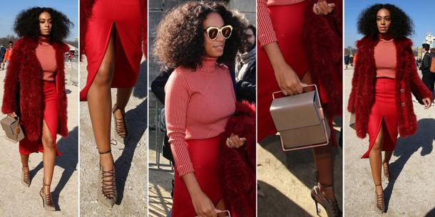 Best Look: Solange Knowles w Carven