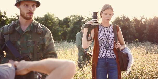 Making of sesja zdjęciowa Dzień z życia reporterki