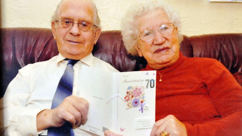 Hat éve ünneplték a 70 éves házassági évfordulójukat / Fotó: Northfoto