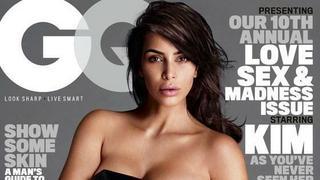 """Naga Kim Kardashian na okładce """"GQ"""""""