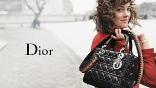 Marion Cotillard w kampanii torebek Lady Dior