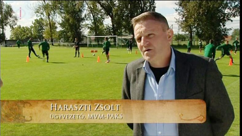 Haraszti Zsolt mindenkit megnyugtatott, a csapat labdarúgói a vizsgálatok alapján nem fertőznek / Fotó: MTI