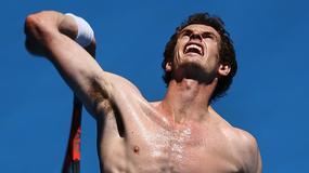 Murray zachwyca - ależ on ma klatę!