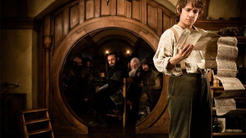 """""""Hobbit: Niezwykła podróż"""" - kadr z filmu"""