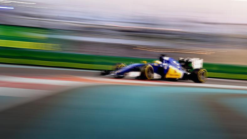 Bolid teamu Sauber