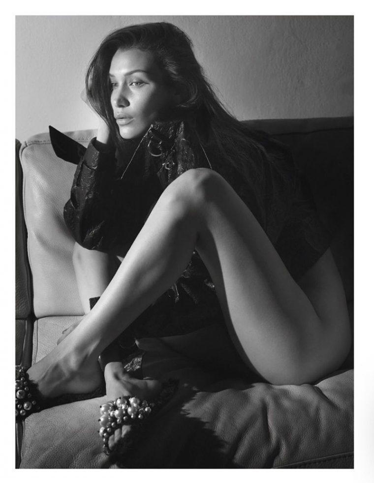 Bella Hadid na okładce Vogue Paris