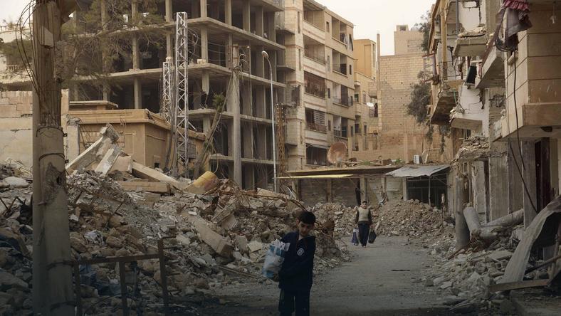 Miasto Deir al-Zor. Fot. Reuters