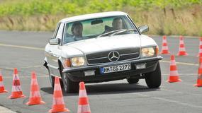 Mercedes 450 SLC 5.0 - poduszkowiec czy rajdówka?