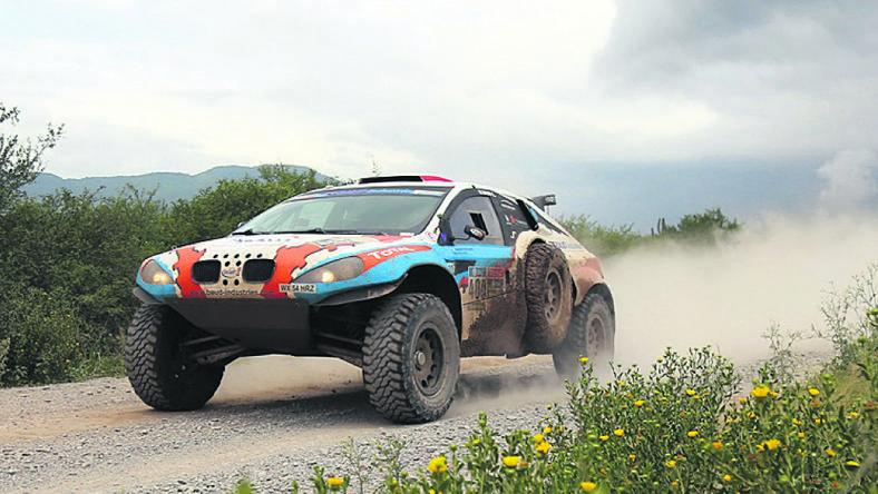 Lionel Baud ezzel a Mitsubishivel okozott tragikus balesetet / Fotó: MTI